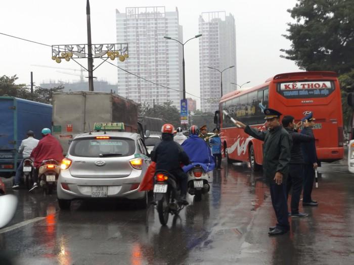 CSGT Hà Nội huy động tổng lực nhằm đảm bảo an toàn giao thông