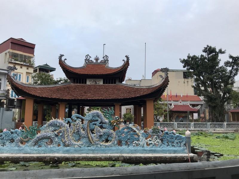 Đình Nam Dư Thượng và lễ hội rước nước độc đáo