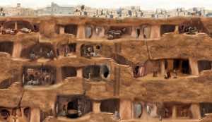 Khám phá thành phố ngầm 18 tầng đầy kinh ngạc tại Thổ Nhĩ Kỳ