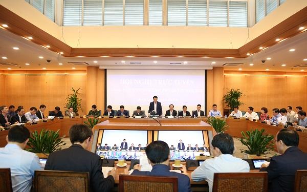 Chủ tịch Nguyễn Đức Chung: Triển khai đồng bộ các chương trình, kế hoạch phục vụ nhân dân đón Tết