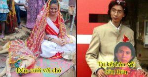 Những cuộc hôn nhân kỳ lạ trên thế giới: Đám cưới với chó, đính hôn với đồ vật