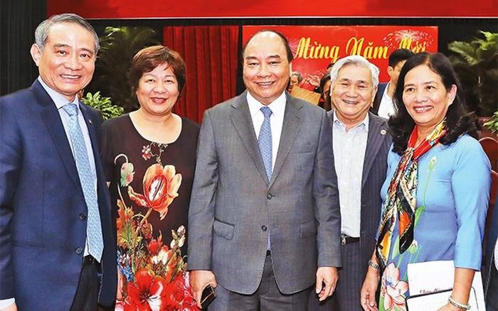 Thủ tướng Nguyễn Xuân Phúc gặp mặt và chúc Tết cán bộ hưu trí tại các tỉnh miền Trung