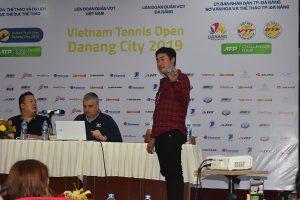 Lễ bốc thăm 'Giải Quần vợt nhà nghề Đà Nẵng – Việt Nam mở rộng 2019'