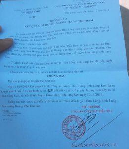 Lạng Sơn: Công an huyện Hữu Lũng bao che, cố tình bỏ lọt tội phạm?