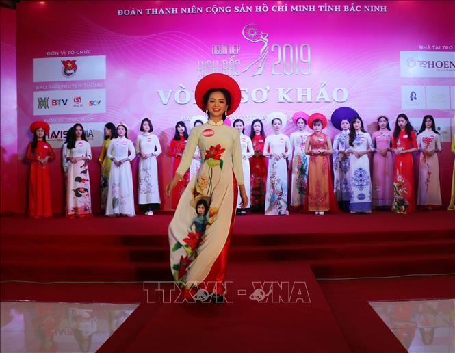 Người đẹp Kinh Bắc tỏa sáng miền Quan họ
