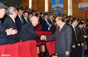 """Thủ tướng: """"Đảng, Nhà nước và nhân dân luôn ghi nhận, tôn vinh những đóng góp của Tập đoàn Dầu khí Việt Nam"""""""