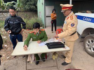 CSGT Bắc Giang ra quân ngăn chặn lái xe có sử dụng ma túy