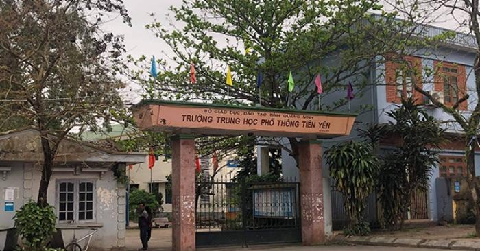 Hơn 500 học sinh ở Quảng Ninh đồng loạt nghỉ học bất thường