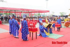 Đặc sắc Lễ hội cầu phúc Đền Độc Cước