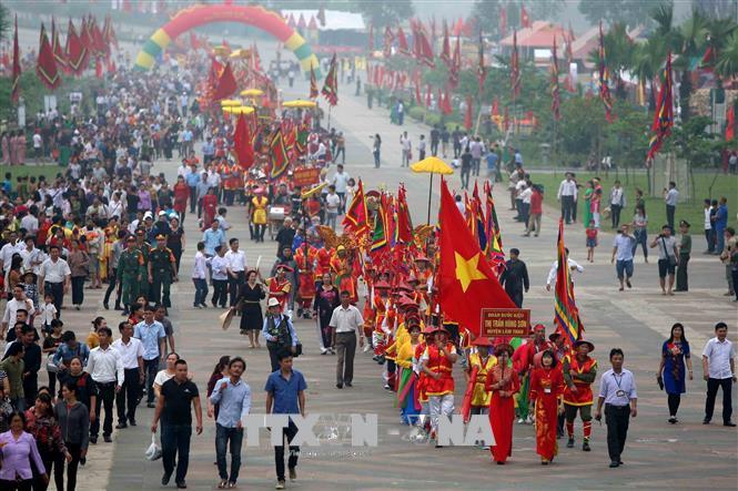 Giỗ Tổ Hùng Vương-Lễ hội Đền Hùng 2019: Đảm bảo thực hiện tốt '5 không'