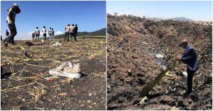 Máy bay rơi Ethiopia, 157 người không còn ai sống sót
