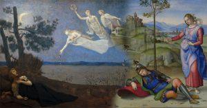 Nghệ thuật vẽ những giấc mơ của họa sĩ phương Tây thời xưa