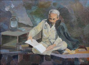 Sáng tác tranh cổ động kỷ niệm 129 năm ngày sinh Chủ tịch Hồ Chí Minh