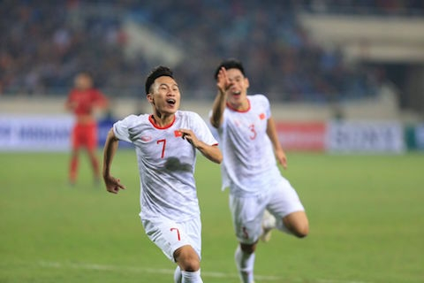 U23 Việt Nam xếp áp chót trong nhóm những đội nhì bảng dù thắng U23 Indonesia