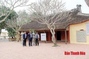 Bảo tồn và phát huy các giá trị di sản văn hóa vật thể ở huyện Hoằng Hóa