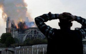 Nhà thờ Đức Bà Paris bốc cháy: Kỳ quan bị phá hủy