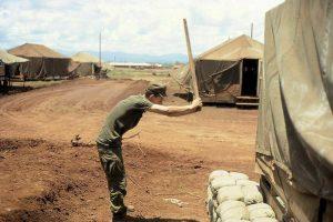 Hé lộ cuộc sống của lính Mỹ ở Pleiku năm 1967