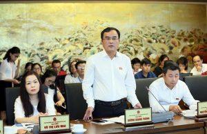 Chủ tịch EVN giải trình việc tăng giá điện tại diễn đàn Quốc hội