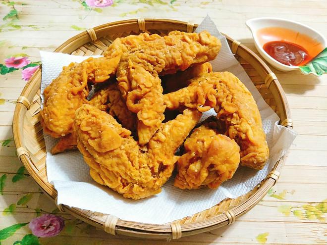 Công thức làm gà rán KFC chuẩn vị ngoài hàng