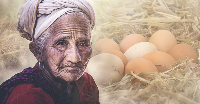 Rơi lệ trước câu chuyện 'chục trứng gà' của cụ già nghèo và cô giáo nơi vùng cao hẻo lánh