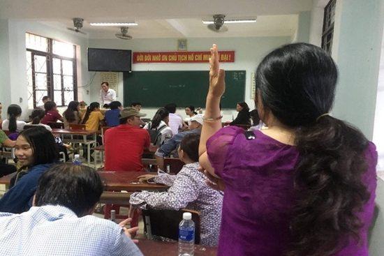 Sở Giáo dục và Đào tạo Quảng Bình họp khẩn. Ảnh: Vietnamnet.vn