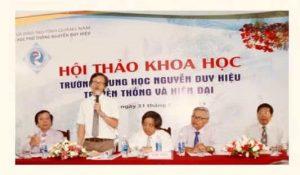 Trường THPT Nguyễn Duy Hiệu – Điện Bàn, Quảng Nam, một di tích cần được bảo tồn