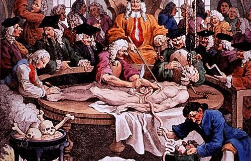 Những công việc đẫm máu, quái dị của thợ cạo tóc thời trung cổ