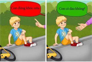 Những câu nói của cha mẹ khiến trẻ tổn thương