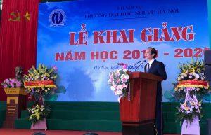 Trường Đại học Nội vụ Hà Nội khai giảng năm học mới, đón hơn 1700 tân sinh viên