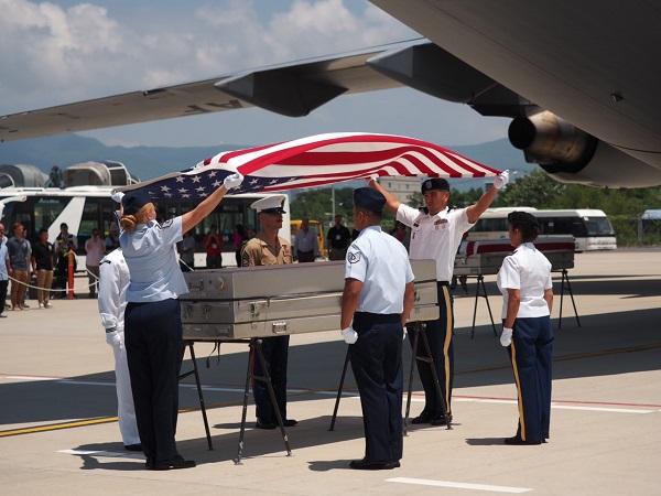 Hoa Kỳ tổ chức lễ hồi hương hài cốt quân nhân Mỹ lần thứ 151