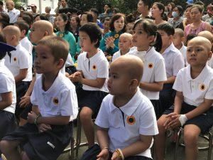 Cảm động lễ khai giảng của một lớp học 'đặc biệt'
