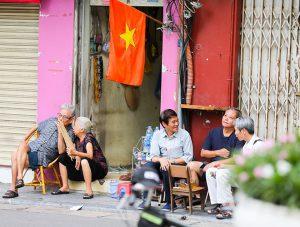 Hình ảnh Hà Nội ấn tượng, rực rỡ cờ hoa mừng ngày Quốc khánh