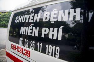 Chuyện xúc động trên những chuyến xe cứu thương 'miễn phí'