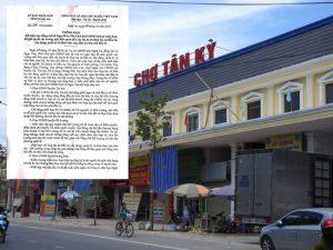 UBND tỉnh Nghệ An chỉ đạo giải quyết các tồn tại, vướng mắc tại các dự án chợ của HTX Hải An