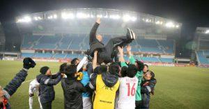 Park Hang-Seo được đề cử là HLV giỏi nhất Đông Nam Á