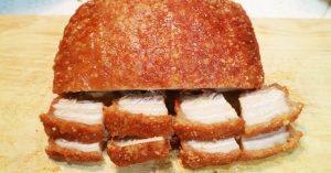 Cách làm món thịt heo quay không cần lò nướng giòn tan, thơm nức mũi