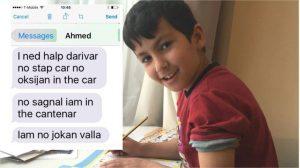 Tin nhắn của cậu bé 7 tuổi cứu mạng 15 người nhập cư trong xe đông lạnh
