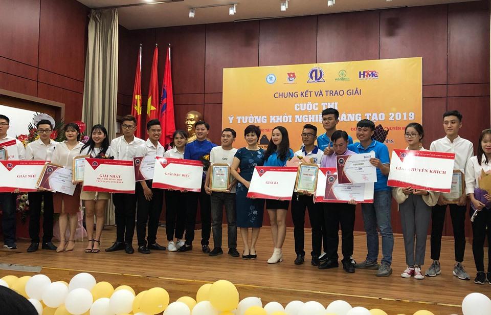 Chung kế Cuộc thi 'Ý tưởng khởi nghiệp sáng tạo' năm 2019
