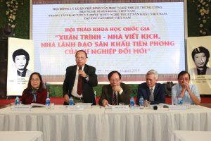 Rạp Đại Nam bùng nổ cảm xúc trong hội thảo Quốc gia về Nhà viết kịch Xuân Trình