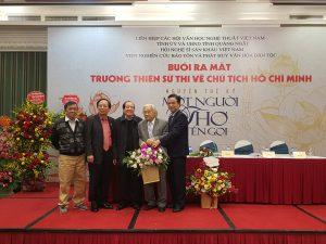 Ra mắt gần 13 nghìn câu thơ 'Trường thiên lục bát về Chủ tịch Hồ Chí Minh'