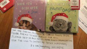 'Thiệp giáng sinh' và câu chuyện siêu thị Tesco ở Anh ngừng bán hàng Trung Quốc