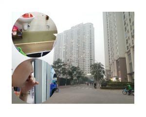Hà Nội: Chung cư Gelexia Riverside rộp tường, vỡ đường ống nước thải khi chưa đầy 1 năm sử dụng