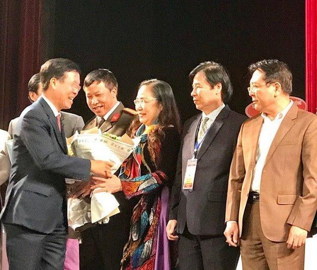 NSND Trịnh Thuý Mùi , nữ Chủ tịch đầu tiên của Hội nghệ sĩ Sân khấu Việt Nam