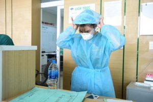 Cận cảnh khu vực cách ly bệnh nhân liên quan đến virus Corona