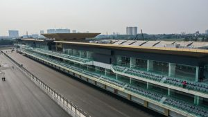Hoàn thiện phần đường đua F1 Hà Nội