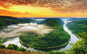 Tại sao các con sông đều uốn khúc?