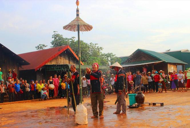 Nét văn hóa trong lễ cầu mưa