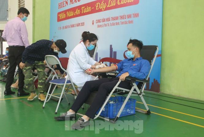 Bắc Ninh tổ chức 14 đợt hiến máu, thu về 5.900 đơn vị