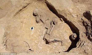 Tìm thấy 'Công chúa ngủ trong rừng' sau 2.000 năm