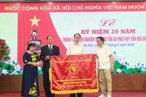 20 năm với Văn hóa dân tộc